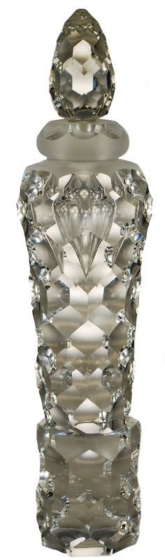 Crystal Perfume Bottle. Perfect with your unique wedding fragrance. www.weddingscentsperfumes.co.uk