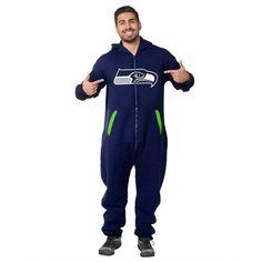 Seattle Seahawks Team Logo Sport Suit - Blue