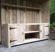 Image result for zelf een buitenkeuken maken van steigerhout