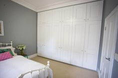 lovely built in wardrobes