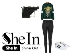 """""""GO TIGERS!!!!!!!!!!!!!!!!"""" by cupcake-854 ❤ liked on Polyvore featuring Topshop and adidas"""