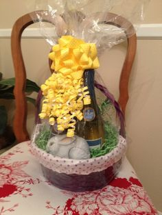 Easter basket for my adult kids easter ideas pinterest easter basket for adults negle Images