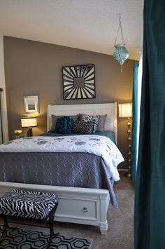 Behr Elephant Skin .. I think I have narrowed down my bedroom color. :)