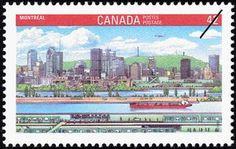 Sello: Montreal (Canadá) (Canada 92 International Stamp Exhibition) Mi:CA 1279,Sn:CA 1404,Yt:CA 1234,Sg:CA 1488