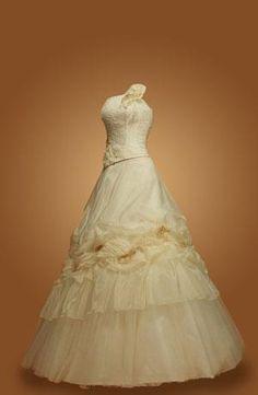 Как вставить шаблон платья