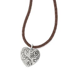 Brighton Gypsy Lace Leather Necklace