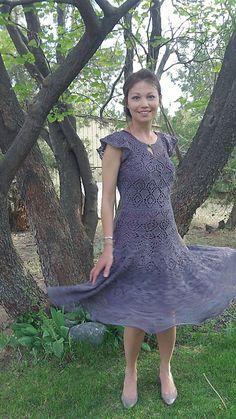 Knitted Bliss: Modification Monday: Danish Lace Dress