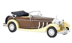 Whitebox Mercedes Benz SS Diecast Model Car This Mercedes Benz SS Cabriolet Diecast Model Car is Brown and Cream and has working wheels and also comes in a display case. It is made by Whitebox and is scale (approx. Mercedes Benz Models, Diecast Model Cars, Scale Models, Antique Cars, Beige, Vehicles, Ss, Display Case, Wheels