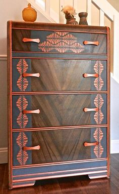 Antique Mahogany Waterfall Open Bookcase Bookshelves To Adopt Advanced Technology Antique Furniture