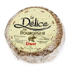 Soft cow's milk Cheese from Burgundy. Read more here: www.wikipedia.org/wiki/D%C3%A9lice_de_Bourgogne