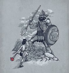 angry birds vs david & goliath