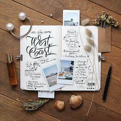 Creer un packaging pour un carnet de voyage ? Intégré les indispensable pour prendre des notes..carnet de voyage carnet