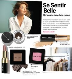 Kate Upton: the new face of Bobbi Brown Cosmetics - Get the Look - Ritchell Dela Cruz - Make-Up Eye Makeup Tips, Skin Makeup, Beauty Makeup, Beauty Tips, Beauty Products, Eye Products, Nude Makeup, Fall Makeup, Drugstore Makeup