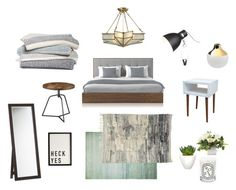 California cozy guest room by linda-sung on Polyvore featuring interior, interiors, interior design, home, home decor, interior decorating, Room Essentials, CB2, Dot & Bo and Barefoot Dreams
