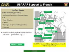 Army Africa briefing slide from 2013 obtained by TomDispatch via the Freedom of Information Act. Freedom Of Information Act, Global Conflict, Best Kept Secret, Us Military, Troops, Empire, Africans, How To Plan, Army