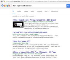(14) SEO Expert - SEO Consultant - Video SEO Special... - SEO Expert - SEO Consultant - Video SEO Specialist - YouTube SEO Marketing - Video SEO - Quora