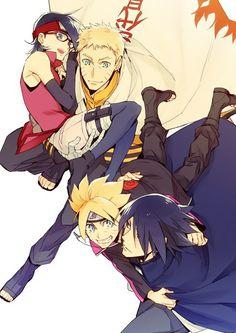 Naruto#Sasuke#Boruto#Sarada