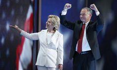 8/12/16 - Clinton & Kaine release years worth of tax returns. Trump? Still refusing...
