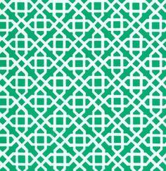 LAMINATE Green Honey Child fabric