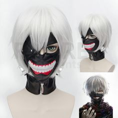 Tokyo Ghoul Cosplay Kaneki Ken Original Mask