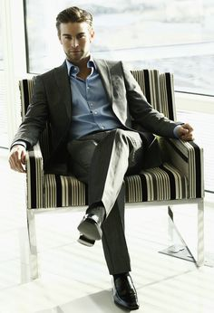 Chace Crawford - Men seriously underestimate the power they have of being a well dressed man.