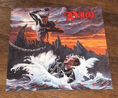 Dio – Holy Diver Ronnie James Dio LP Vinyl  Great shape Sterling Sound
