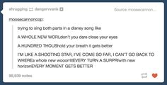 When you try to sing a duet. | 27 Hilarious Tumblr Posts That Are So True You'll Think They're About You