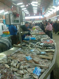 Olhao Fish Market, Algarve, Portugal