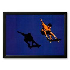 Art.com No Limits Skateboarder Framed Art Print, Multicolor