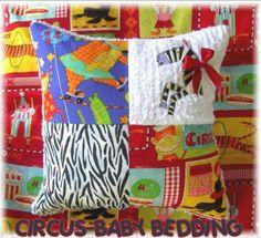 Circus baby bedding