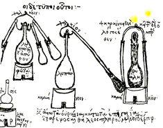 Zosimos distillation equipment - Distilled beverage - Wikipedia, the free encyclopedia