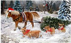 """New for 2016! Corgi Christmas Holiday Cards are 8 1/2"""" x 5 1/2"""" and come in packages of 12 cards. One design per package. All designs include envelopes, your personal message, and choice of greeting. Select the inside greeting of your choice from the menu below.Add your custom personal message to the Comments box during checkout"""