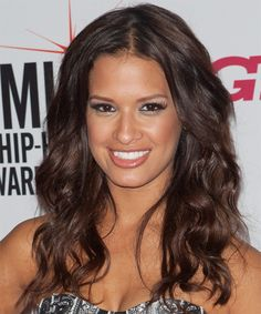 Rocsi Diaz Hairstyle - Casual Long Wavy