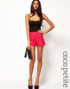 Scallop Lace Shorts