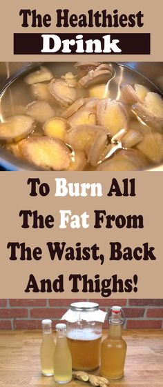 The Healthiest Drink To Burn All the Fat From The Waist, Back and Thighs