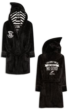 PRIMARK HARRY POTTER I SOLEMNLY SWEAR BATH ROBE DRESSING GOWN BATHROBE size 6-20