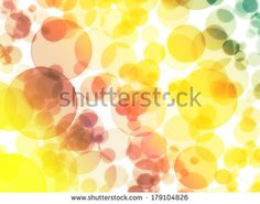 color bubbles abstract background