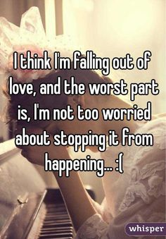 falling out of love with my boyfriend help