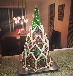 A Gingerbread Cathedral. #Imgur