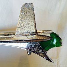 1953 PONTIAC CHIEFTAIN HOOD ORNAMENT VINTAGE INDIAN MOTORCYCLE *HOT ROD RAT ROD*