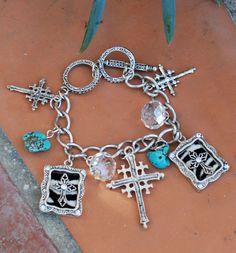 Zebra Charm Bracelet $9.99