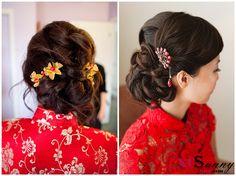 Chinese Wedding Hairstyles | XCSUNNYHAIR