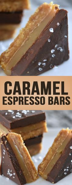 Caramel Espresso Bars - All Recipe
