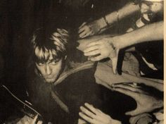 Rare photo of Kurt Cobain