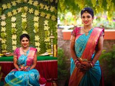 Pavithra's saree was from Kanchi silks