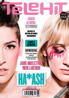 Revista Telehit México - Octubre 2015 - Ha*Ash, Hanna y Ashley