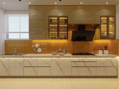 Kitchen Room Design, Kitchen Interior, Modern Kitchen Design, Modern Interior Design, Parallel Kitchen Design, Best Interior, Kitchen Inspiration, Kitchen Gadgets, Backsplash