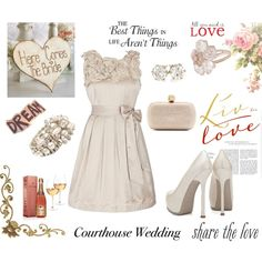 Simply Elegant, created by johnna-cameron on Polyvore