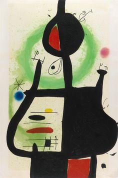 La Sorcière by Joan Miró