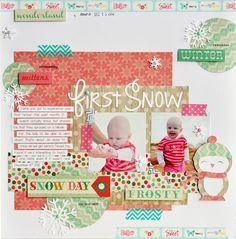 First Snow - Scrapbook.com